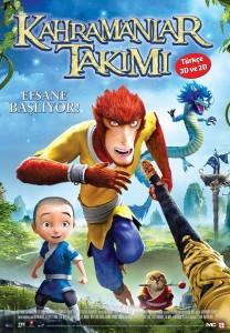 KAHRAMANLAR TAKIMI -MONKEY KING-HERO IS BACK (2D-DUB)